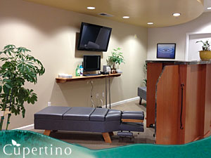 Cupertino Chiropractic Center Adjustment Table