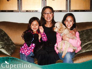 Dr. May Cheung With Daughters